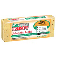 cabot jalapeno light cheese