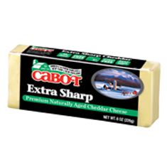 cabot extra sharp cheese