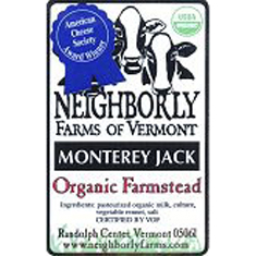 neighborly farms of vermont monterey jack cheese