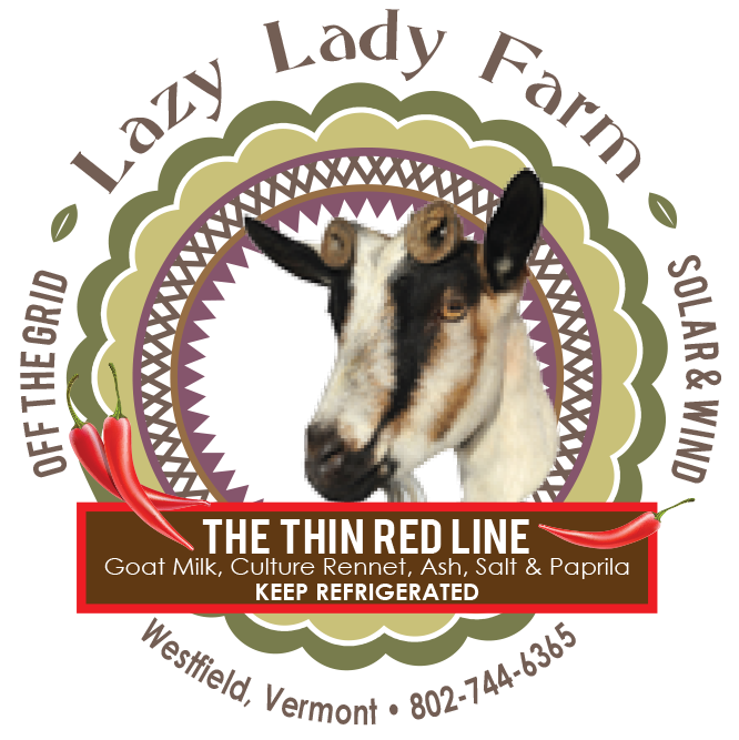 lazy lady farm the thin red line cheese