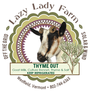 lazy lady farm thyme out cheese