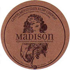 green mountain blue cheese madison cheese