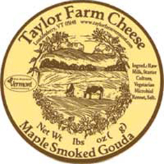 taylor farm cheese maple smoked gouda cheese