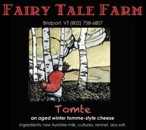 fairy tale farm tomte cheese