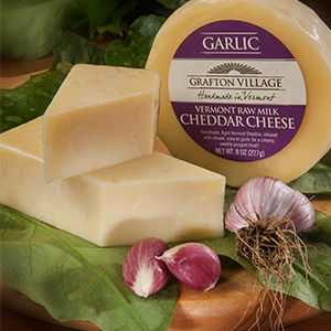 grafton village garlic cheddar cheese