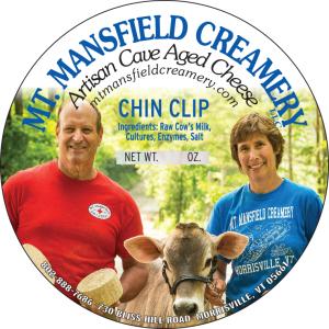 mt. mansfield creamery chin clip cheese