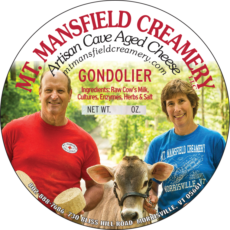 mt. mansfield creamery gondolier cheese