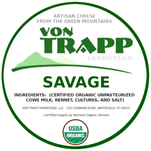 von trapp savage cheese